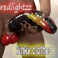 Kinky Clothes For Futalicious For Genesis 3 Female