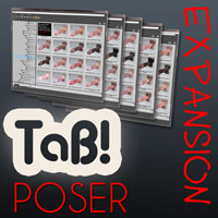 TaB Poser v1.02 Expansion Pack