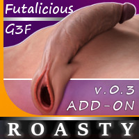 Roasty Add-On For Genesis 3 Female