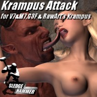 Krampus Attack For G3F/V7
