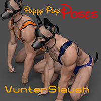 Puppy Play Poses