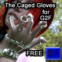 The Caged Gloves For G2F