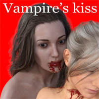 Vampire's Kiss For Genesis 3 Females