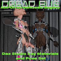 Dread Bug Daz Studio Iray Add-On For Darkseal's BugBoy