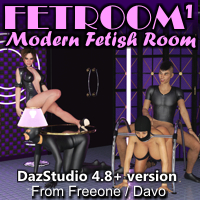 Fetroom 1 For DazStudio 4.8+