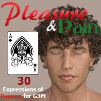 Pleasure And Pain - Faces Of Passion For Genesis 3 Males