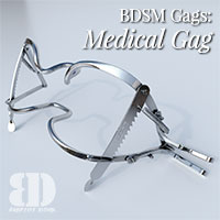 BDSM Gags: Medical Gag