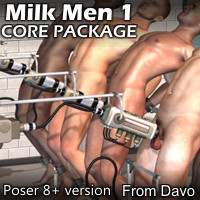 """Milk Men 1"" Core Pack For P8+"
