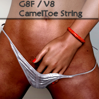 Camel Toe String For Genesis 8 Females