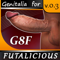 Futalicious For Genesis 8 Female