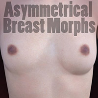 Asymmetrical Breast Morphs
