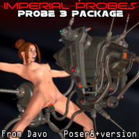 "Imperial Probes ""Probe 3"" For P8+"