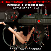 "Imperial Probes ""Probe 1"" For DazStudio 4.8+"