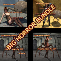 Big Horror Bundle For G3F