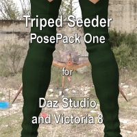 Pose Pack 1 For Triped Seeder DS