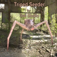 Triped Seeder For Daz Studio