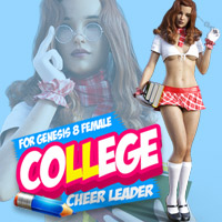 College Cheerleader For G8F