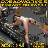 """Dreadworks 5"" Expansion Pack 1 For DazStudio 4.8+"