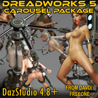 """Dreadworks 5"" Carousel Pack For DazStudio 4.8+"