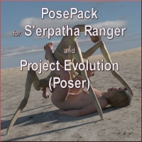 S'erpatha Ranger Pose Pack For Poser