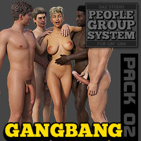 People Group System - Pack 02 Gang Bang For G8F/G8M