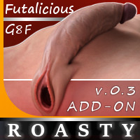 Roasty Add-On For Genesis 8 Female