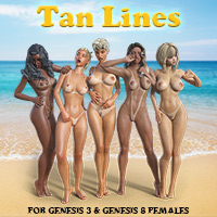 Tan Lines For G3F & G8F