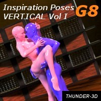 Inspiration Poses G8 - Vertical Volume I