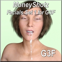MoneyShotz - Facials Set 1 For G3F