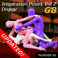Inspiration Poses - Doggy Volume 2 G8