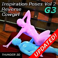 Inspiration Poses - Reverse Cowgirl Volume 2 G3