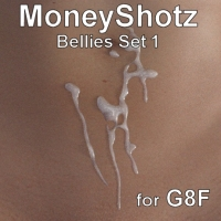 MoneyShotz Bellies Set 1 For G8F