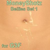 Moneyshotz Cream Pies Set 1 For G3f