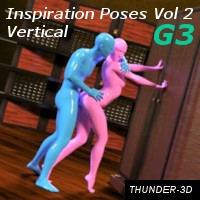 Inspiration Poses - Vertical Volume 2 G3