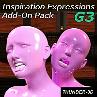Inspiration Expressions Add-On Pack G3