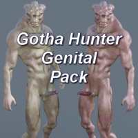Gotha Hunter Genital Pack