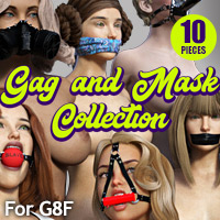 Gag & Mask Collection For G8F