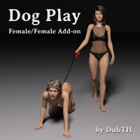 Dog Play Poses And Accessories: Female & Female
