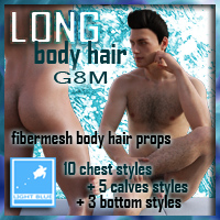 Long Body Hair G8M