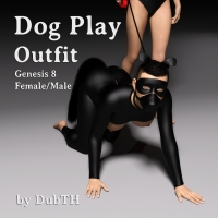 Dog Play Outfit And Tail