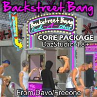 Backstreet Bang Core Package For DazStudio