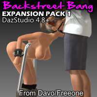 Backstreet Bang Expansion Pack 1 For DazStudio