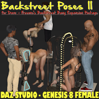 Backstreet Poses For Davo's Backstreet Bang Expansion Pack DS