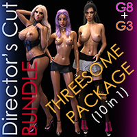 Threesome Director's Cut Poses Bundle G8 + G3