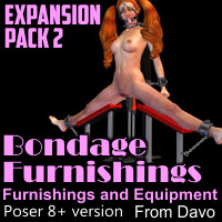 Bondage Furnishings Expansion Pack 2 For Poser