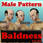 Darkseal's Male Pattern Baldness for M4