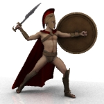Farconville's Spartan Poses for Michael 4