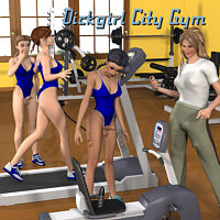 Lynortis' Dickgirl City - The Gym