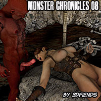 3DFiends' Monster Chronicle 08