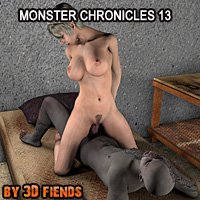 3D Fiends Monster Chronicles 13